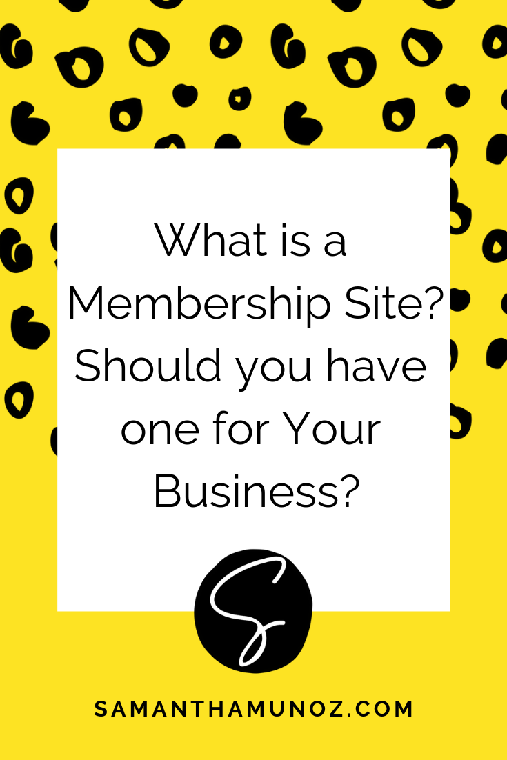 Membership sites are such an incredible time & money investment - but you may be wondering, should I start a membership site? Let's find out in this post. #membershipsites #wordpressforbeginners #bloggingtips #wordpresshelp