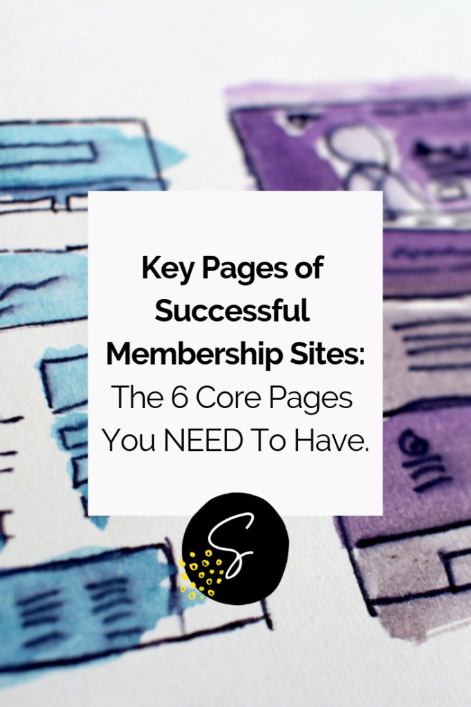 Whether you want to build a membership site for yourself or your client, it's important to know the key pages of successful membership sites!