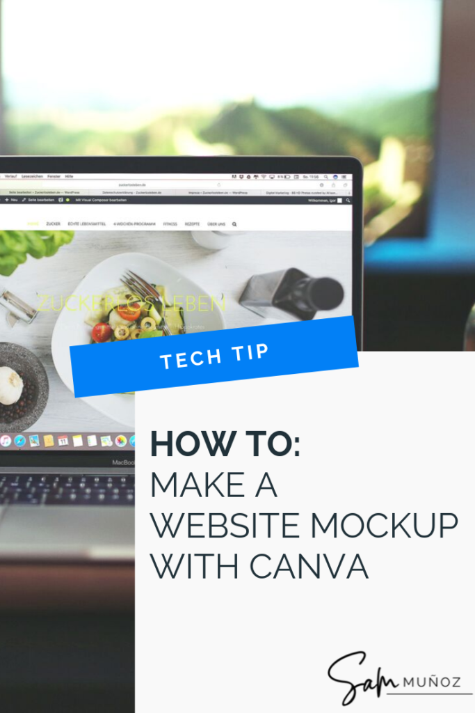 This post will walk you through how to create a website mockup design using MockUpPhone and Canva for when you launch a new website, create a new course, page or blog post. @sammunozconsulting www.samanthamunoz.com   website mockup generator   website mockup tool   app mockup   mockup psd   website mockup template   website mockup tutorial   website mockup canva